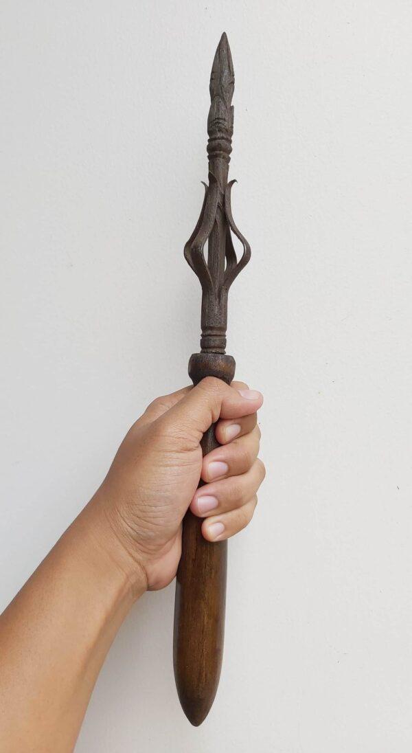 Spear Wijaya Kusuma Pamor Mrambut Est. Majapahit - ZK-111