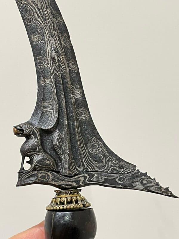 Keris Singo Barong Qilin Lion Pamor Udan Mas – ZKF-358