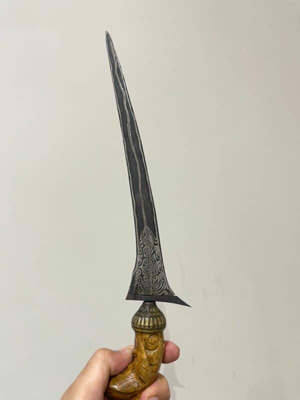 Keris Brojol 3 Pamor (Tunggak Semi, Ganggeng Kanyut, Adeg Wengkon) - ZK-423