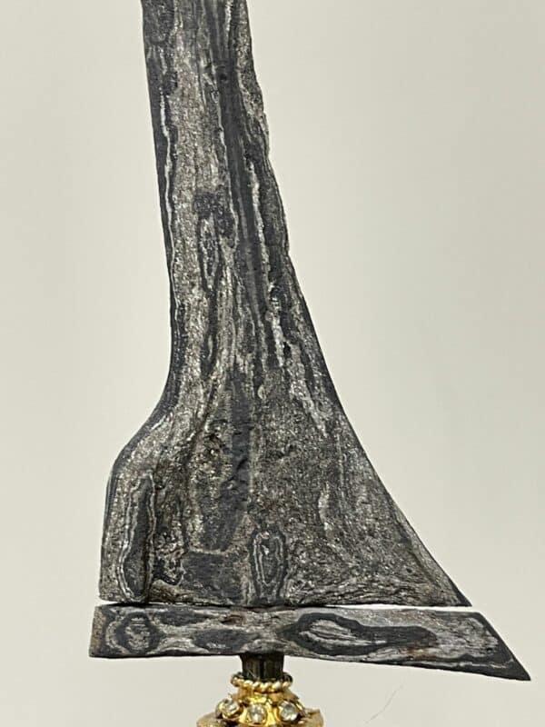 Keris Brojol Patrem Pamor Beras Wutah (Scattered rice - Tuban) - ZK-421