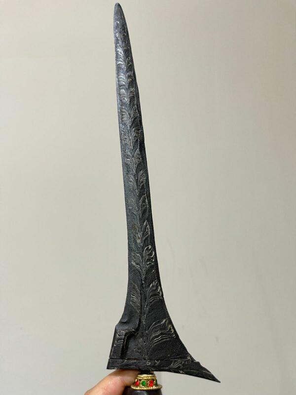 Keris Jalak Ngore Pamor Ron Genduru - ZK-430