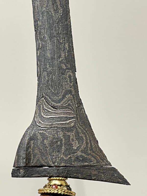 Keris Brojol Pamor Tambal Beras Wutah (Scattered rice – Tuban) – ZK-408